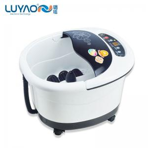 China Automatic Rolling Home Foot Spa Machine With PTC Heating And Red Light on sale
