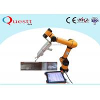 China 6 Axis Robotic Arm fiber laser cleaning machine Full Automation on sale