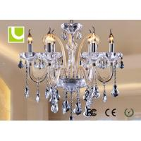 China Energy Saving Kitchen Chandelier Lighting , Luxury Crystal 6 Light Chandelier on sale