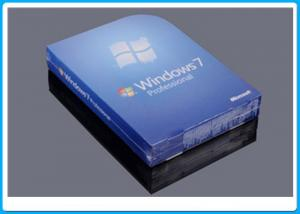 China 32 Bit Full Version Windows 7 Professional Retail Box DVD With 1 SATA Cable on sale