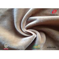 OEM Soft Polyester Velvet Fabric / Polyester Flannel Fabric Furniturer Cover Use