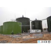 Enamel Coated Glass Lined Steel Tanks With Double Coating Internal And External