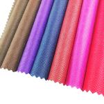 70-110GSM eco material colorful carry bag non woven fabrics cheap pp nonwoven fabric