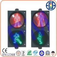 300mm red man + green walking man led traffic light