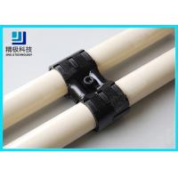 Adjustable Swivel Metal Pipe Joints For Rotating In Pipe Rack System Black Fitting HJ-8