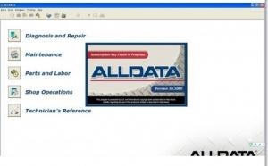 China Alldata V10.52 Automotive Diagnostic Software For Cars / Light Trucks on sale