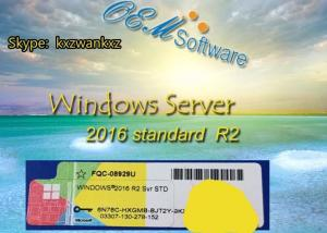 China Retail Windows Server 2016 Standard R2 , Oem Coa Sticker Activation Key on sale