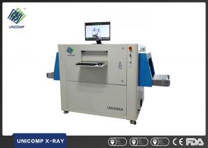 China UNX6060A Foreign Materials X Ray Inspection System , Food Through X Ray Machine on sale
