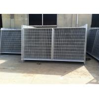 China Professional Temp Fence Panels Free Standing Metal Fence 3.8mm Diameter on sale