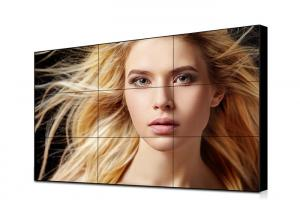 China 49 Inch 1.8mm Ultra Narrow Bezel Video Wall IPS Panel 500cd Brightness Light Weight on sale