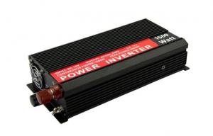 China Aluminum Alloy Car Power Inverter with Battery Charger DC 12V AC 220V 1500W on sale