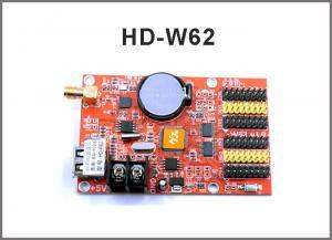 China HD-W40 HD-W62 USB+Wifi P10 LED display module control card, Single&Dual Color led control system on sale