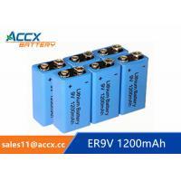 9V battery 1200mAh smoke detector battery, fire detector battery, long self life 10 years