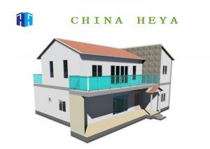 China 2 Story Prefab House Villa Energy Efficient Modular Homes Waterproof on sale
