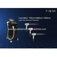 China Commercial Diode Laser Hair Removal Machine 600W High Laser Power 15 * 20mm Large Spot Size on sale
