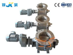 China Customized Flange Blow Through Rotary Valve Corrosion Resistant DN150mm-600mm on sale
