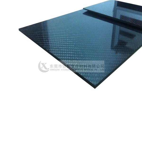 High Strength 3K Carbon Fiber Laminated Sheet Veneer For