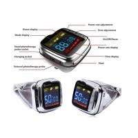 China High blood pressure Laser Therapy Watch , Laser Acupuncture therapy device on sale