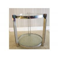 Commercial Marble Hotel Display Coffee Table , Durable Living Room Side Tables