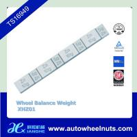 China Zn Die Casting Coated Stick On Adhesive Wheel Balance Weight Lead Free on sale
