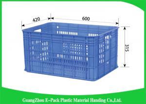 China Ящики для хранения Вегетаблестакинг сетки, большие большие пластиковые клети упаковки складные on sale