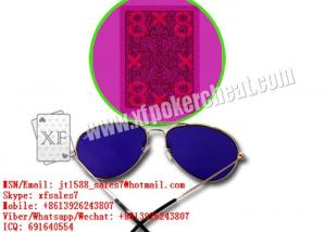 China XF New Perspective Sunglasses To See Invisible Ink Marked Playing Cards For Invisible Contact Lenses on sale