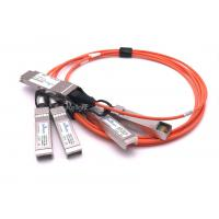 Durable Cisco SFP Modules QSFP-4X10G-AOC1M QSFP To 4 SFP+ Active Optical Breakout Cable