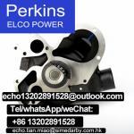 water pump SEV145H T411181 t411180 for Perkins engine 4012 4016 series gas engine parts/diesel engine parts