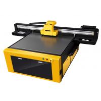 ABS / Cloth Jet Ink UV Flatbed Printer With adjustable Nozzle Temperature and Voltage