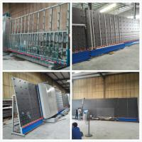 Fully Automatic Insulating Glass Vertical Double Glazing Equipment / Production Line