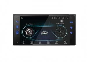 China Android Toyota Corolla DVD Player 7 Double Din Navigation CE Approved on sale