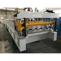 5.5kw 18 Stations Tile Roll Forming Machine / Roof Tile Making Machine