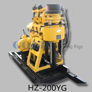 China Hydraulic water drilling rig HZ-200YG diamond core drilling rig on sale