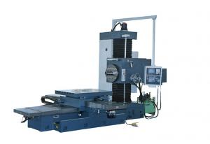 Quality Fine Knife Horizontal Metal Boring Machine With Single Column Speed 12-1100 Rpm for sale