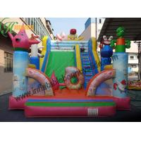 Bob Spong 0.55 Vinly Commercial Kids Inflatable Slide For Inflatable Sport Games