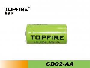 China Lithium-ion Cylindrical LED Flashlight Battery - CD02-AA For Power Tools And Camera on sale