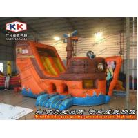 China Kids Favourite Durable Giant Pirate Ship Inflatable Slide Soft Play Sport on sale