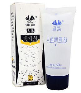 China Strong Water Based Male Sex Lubricant Odorless Yarun Sexy Extras 60g on sale
