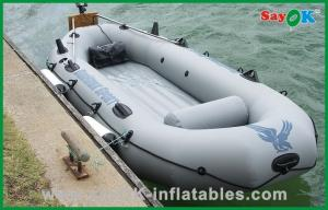 China Customized 4 Person Inflatable Paddle Boat Small Commercial Fishing Boat on sale