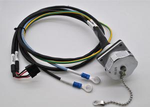 China Customized Length Motor Wiring Harness Aviation Plug For Electrical Circuit on sale