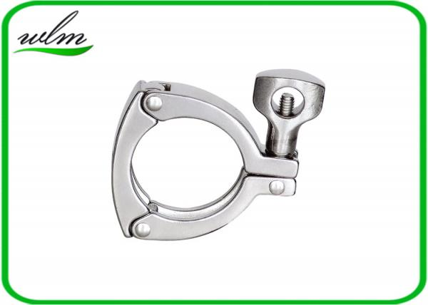 High Safety Sanitary Tri Clamp Fittings Three Pieces
