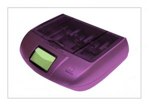 China AA, AAA Constant Voltage Nimh / Nicd Alkaline Battery Charger With 4 Charging Docks on sale
