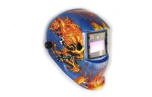 China Din 9-13 Custom Painted Welding Helmets , Automatic Arc Welding Mask on sale