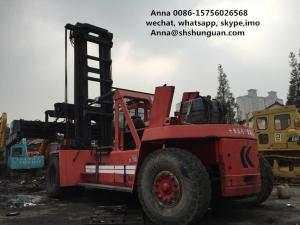China Kalmar Used Container Handler , 45 Tons Used Container Handling Equipment on sale