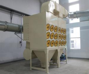 China Sand Blast Room Dust Collector Machine , Cartridge Filter Industrial Dust Collection Systems Low Noise on sale