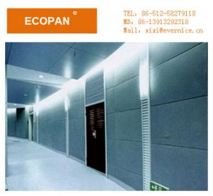 colored fiberglass fabric wrapped acoustic panels soundproof wall panels