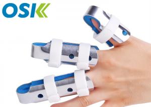 China 3 Sizes Flexible Finger Splint , Soft Foam Broken Finger Wrap Customized Logo on sale