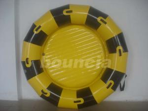 China Round Inflatable Towable Banana Boat / Inflatable Towable Boat Used In Lake Or Sea on sale