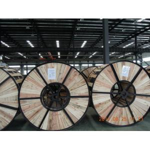 China Lightweight ACSR Aluminium Conductor Steel Reinforced Cable With Wooden Drums Packing on sale