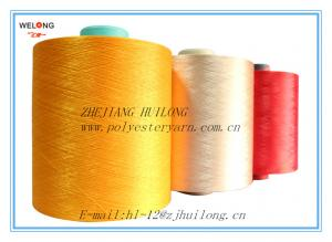 China dty polyester dope dyed yarn on sale